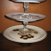 Decorative Pedestal Platters Tutorial