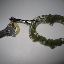 Elasticized Fabric Keychain Tutorial