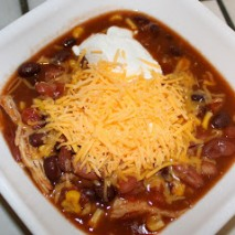 Dinner Tonight: Crockpot Chicken Taco Soup