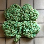 Shamrock Rice Krispies Treats