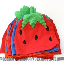Fruit Salad Baby Hats Tutorial