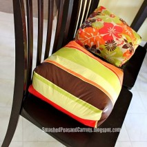 Booster Seat Cushions Tutorial