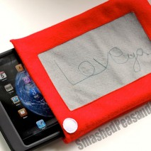 A Project for the Hubby: Etch-A-Sketch iPad Cozy