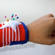 The Retro Wristband Pincushion