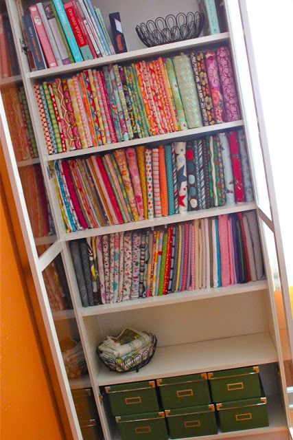 How to Declutter your fabric stash From Smashed Peas and Carrots