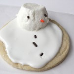 Christmas Traditions: Melted Snowman Sugar Cookies and Sugar Cookie Recipe