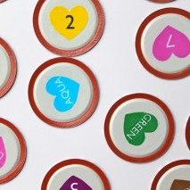 Mason Jar Lid Matching Game {Free Printable}