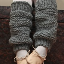 Little Girls' Knit Legwarmers {A Pattern}