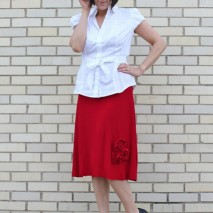 The Everything's Coming Up Roses Skirt {A Tutorial}