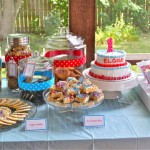 Eloise's First Birthday: The Vintage Milk and Cookies Party