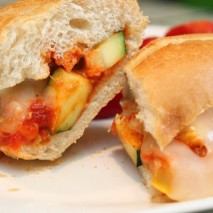 Meatball-less Sub Sandwiches {Recipe} and $100 Cooking.com Gift Card Giveaway!