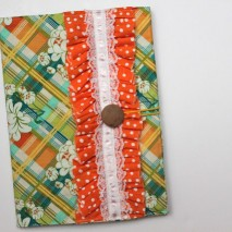 Fabric Composition Notebook Cover {Tutorial}