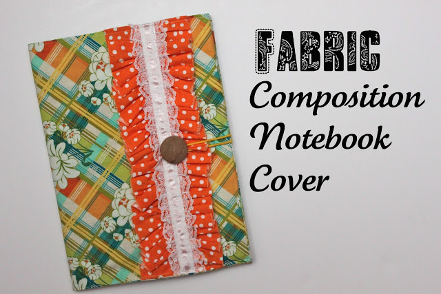 Notebook Cover Pattern : Fabric composition notebook cover tutorial smashed