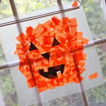 Tissue Paper Pumpkins {Tutorial}