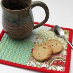 Patchwork Mug Rug-TUTORIAL