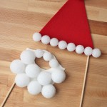 Santa Disguise Photo Booth Props {Tutorial}