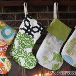 Cheery Christmas Stockings {Tutorial}
