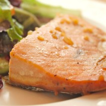 Maple Glazed Salmon-RECIPE
