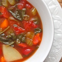 Cozy Crockpot Minestrone Soup