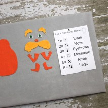 Get Creative with THE LORAX: Roll A Dice Lorax Game