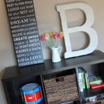 Burlap Covered Letters-TUTORIAL