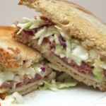 Crockpot Corned Beef and Coleslaw