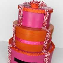 Wedding Cake Card Box-TUTORIAL