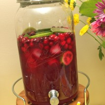 Cranberry Lime Party Punch-RECIPE