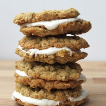 Oatmeal Creme Pies {Gluten and Dairy Free}
