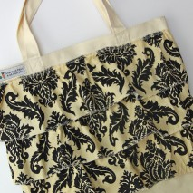 The 20 Minute Ruffle Tote-TUTORIAL