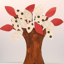 The Thanks Giving Tree-TUTORIAL & Giveaway