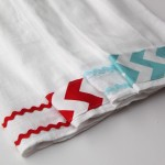Chevron Inspired Tea Towels-TUTORIAL