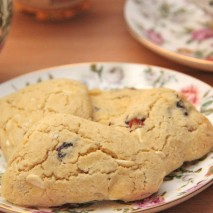 RECIPE: Gluten Free White Chocolate Cranberry Scones