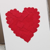 TUTORIAL: Layered Heart Art