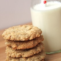 RECIPE: Gluten Free Dairy Free Almond Cookies