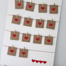 TUTORIAL: Valentine's Advent Calendar