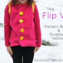The Flip Vest: Pattern Review and Giveaway