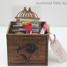 TUTORIAL: How to Make a Vintage Wood Crate And Giveaway