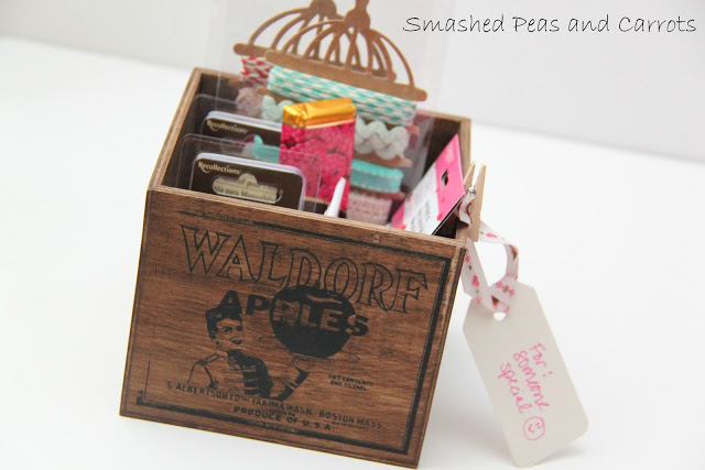 Tutorial how to make a vintage wood crate and giveaway for Wooden box tutorial