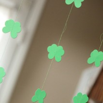 TUTORIAL: Cloverleaf Chain Garland