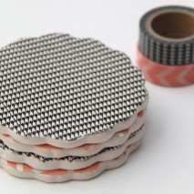 TUTORIAL: Washi Tape Coasters