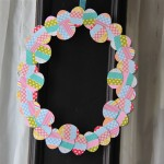 TUTORIAL: Washi Tape Easter Wreath