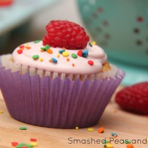 RECIPE: Raspberry Creme-Filled Cupcakes and a Pillsbury Funfetti Starter Kit GIVEAWAY!