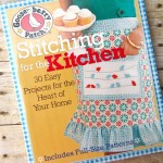 BOOK REVIEW AND GIVEAWAY: Gooseberry Patch Stitching for the Kitchen