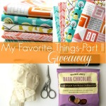 The One Where I Give Away More of My Favorite Things!