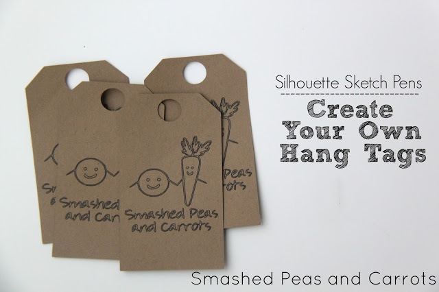 tutorial how to make your own hang tags with silhouette With create hang tags