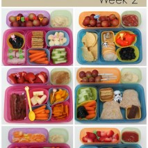 Bento Lunch Ideas: Week 2