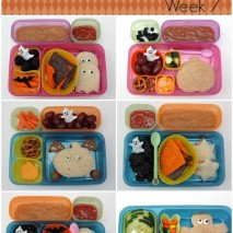 {Halloween} Bento Lunch Ideas: Week 7
