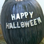 TUTORIAL: Magnetic Paint Craft Pumpkins with Magnetic Letters