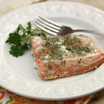 RECIPE: Baked Crusted Salmon and a McCormick Spice Giveaway!